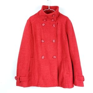 BNCI Blanc Noir Red Peacoat